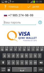 Номер и пароль QIWI
