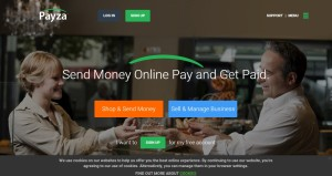 Вебсайт Payza