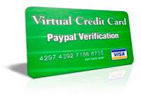 Виртуальная карта для работы с PayPal