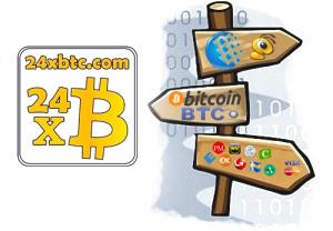 Особенности онлайн-обменника 24XBTC