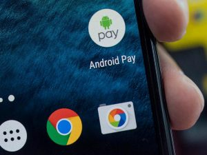 Android Pay на смартфоне