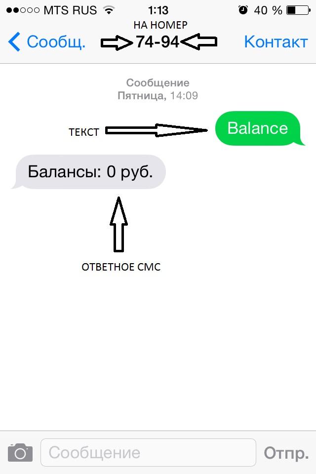 Проверка баланса QIWI без доступа к Интернету