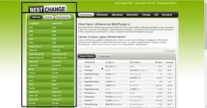 Сайт с обменниками