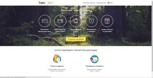 Официальный веб-ресурс Яндекс.Деньги