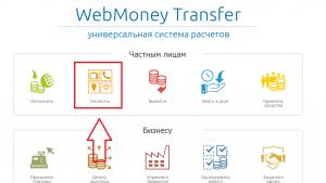 Сайт платежной системы