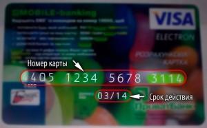 Срок действия кредитки