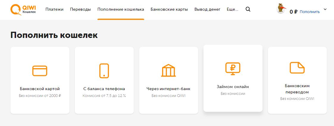 Деньги в кредит онлайн на qiwi где взять деньги в кредит пермь